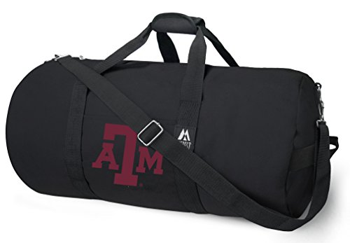 OFFICIAL Texas A&M Aggies Duffle Bag or Texas A&M Gym Bags Suitcases by Broad Bay