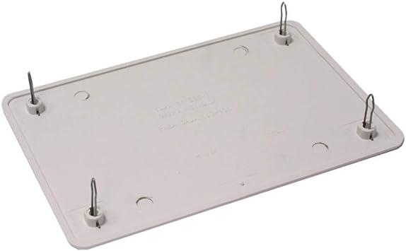 BeMatik - Tapa de Caja de Registro Rectangular para Caja de 160x100mm: Amazon.es: Electrónica
