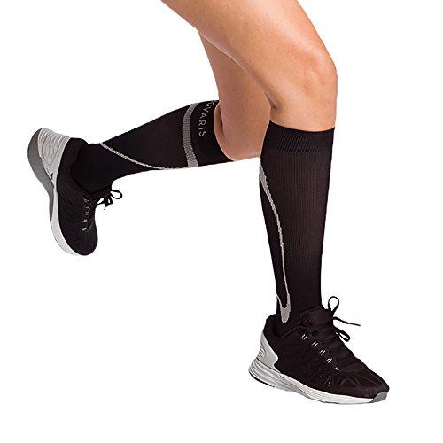 Sigvaris Performance- Active Therapy Socks 20-30mmHg Closed Toe, Medium Small, Black