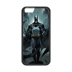 LeonardCustom Marvel Hero the Avengers Batman Protective Hard Rubber Coated Cover Case for iPhone 6 4.7 by mcsharks