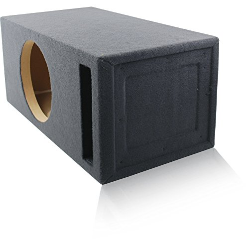 2.0 Cu. Ft. Ported / Vented MDF Sub Woofer Enclosure for Single 12'' Car Subwoofer (2.0 ft^3 @ 32Hz) Made in U.S.A. by MSW Enclosures (Image #2)
