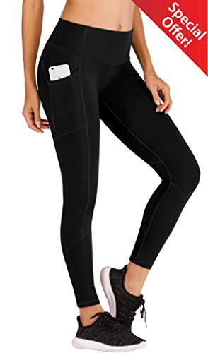 Ewedoos Yoga Pants Women Leggings with Pockets High Waist Tummy Control Workout Pants for Women Running Tights