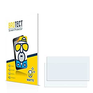 2x BROTECT Matte Protector Pantalla para Becker Traffic Assist Z215 Protector Mate, Película Antireflejos