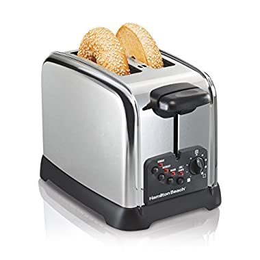 Hamilton Beach Classic Chrome 2 Slice Toaster