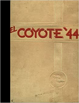 Reprint 1944 Yearbook Roswell High School Roswell New Mexico