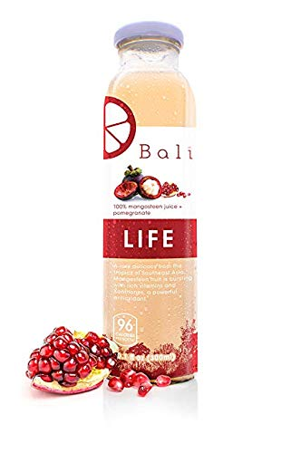 Bali LIFE 100% Pure Mangosteen Juice + Pomegranate (12-Pack)