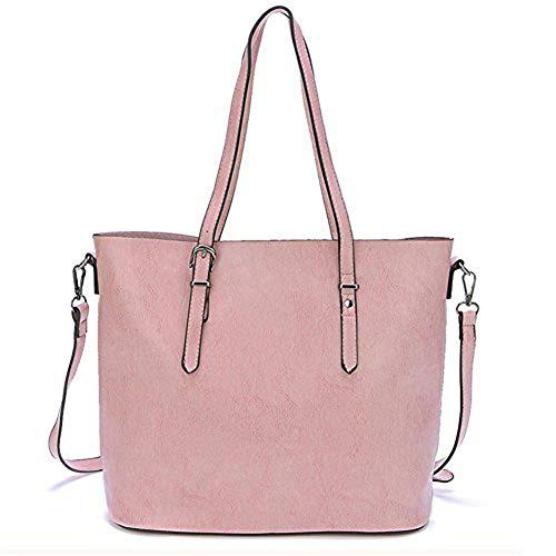 Shoulder Handbags Bag Handle Pink Tote Women's Purse Satchel EnllerviiD Top 65Y4qq