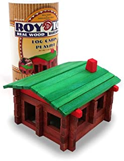 product image for Roy Toy Real Wood Building Set