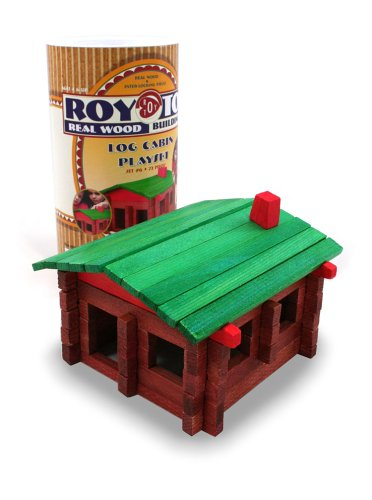 Roy Toy Real Wood Building Set, Baby & Kids Zone
