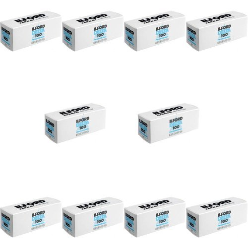 Ilford Delta 100 120 Pack of 10 by Ilford