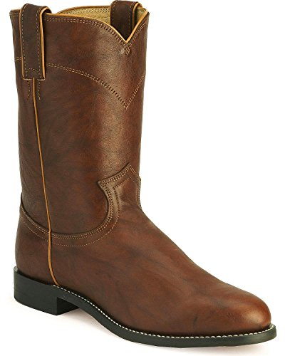 Justin Boots Men's 3163 10-Inch Chestnut Marbled 11.5 EEE