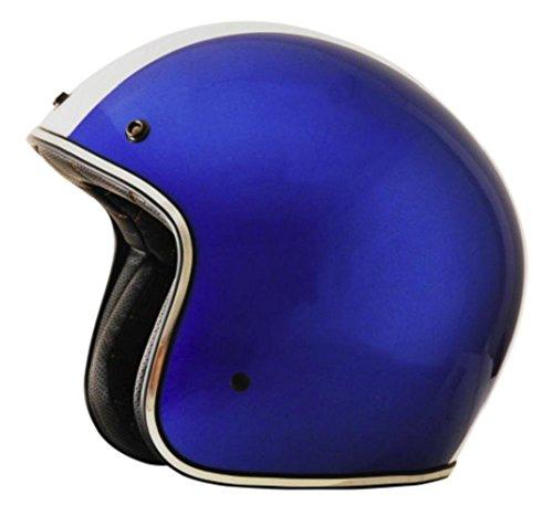 - AFX FX-76 Unisex-Adult Half-Size-Helmet-Style Helmet (Shelby Blue, Small)