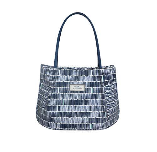 Oilcloth Freya Bag Fair Trade Handbag by Earth Squared Bamboo