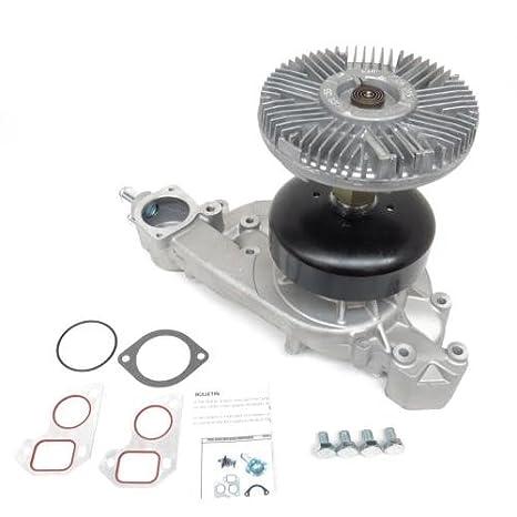 Nos Motor funciona Bomba de agua y conjunto de embrague Sustitución de ventilador (mck1007)
