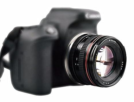 Lente de cámara de Fotos de Gran Apertura de 50 mm F1.4, para ...