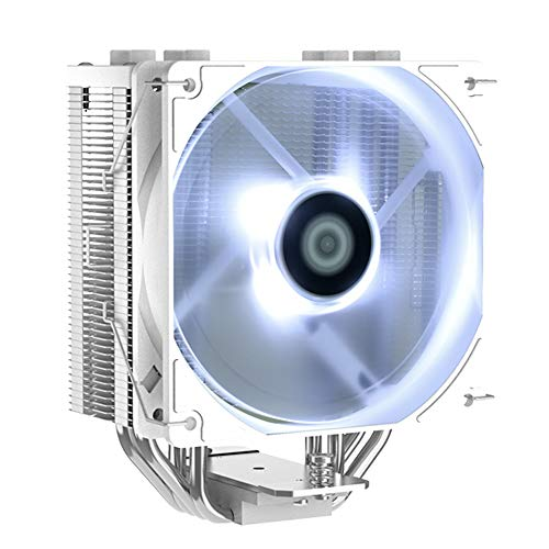 ID-COOLING RGB CPU Cooler AM4 CPU Cooler 4 Heatpipes CPU Air Cooler 120mm PWM Fan Air Cooling for Intel/AMD