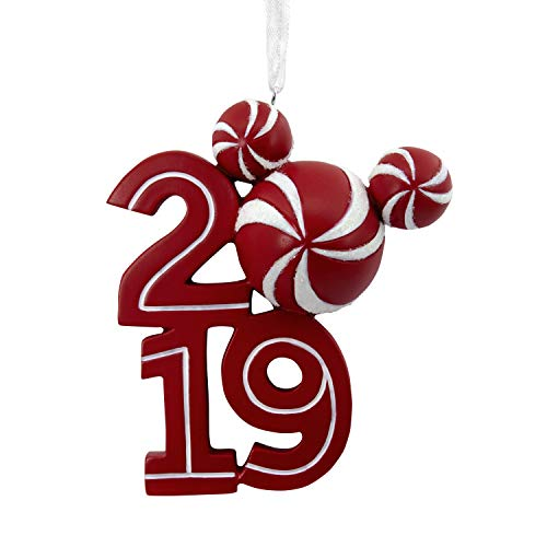 (Hallmark Christmas Ornaments 2019 Year Dated, Disney Mickey Mouse Icon Ornament)