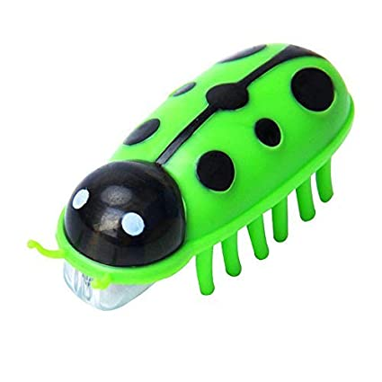 Pawaca Electric Teasing Cat Toys, Mini Robotic Bug Interactive Cat Toys, Fast Moving Cat