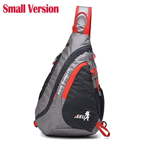 Price comparison product image Sling Bag Backpack,  Ultralight Water-resistant Multipurpose Outdoor Chest Bag for Women Men Kids Small£¨15.0 Version)