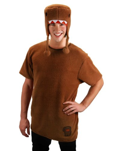 Lets Party By Elope Domo Adult Costume Kit / Brown - Size Large/X-Large -