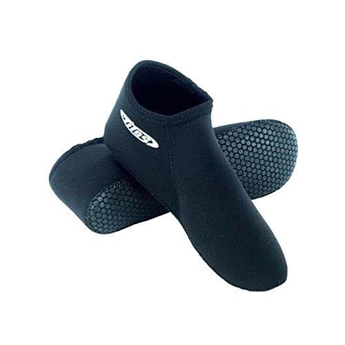 Tilos 3mm Waterproof Neoprene Fin Socks for Scuba Diving, Snorkeling, Swimming, Watersports, Hik ...
