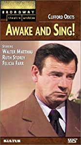 Awake and Sing! (Broadway Theatre Archive) [VHS]