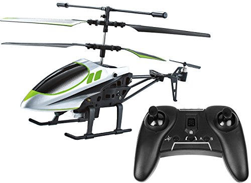 iRola 3.5 Channel Rechargeable IR 2 Blade Infrared RC Helicopter Drone with Gyro Remove Control