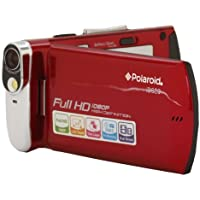 Vivitar  ID820-RED-FRPolaroid Ultra Thin DVR- red Video Camera(Red) (Discontinued by Manufacturer)