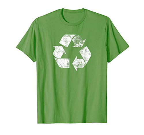 Recycle Logo T Shirt Earth Day Nature Planet Conservation