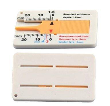 S /20/mm LOVE plastica battistrada manometro battistrada profondit/à Pinza Righello cursore profondit/à misuratore di profondit/à 0/