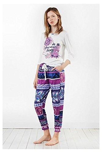 Desigual pijamas Boho Jeans, algodón, Ibiza, 70 x 45 x 2 cm