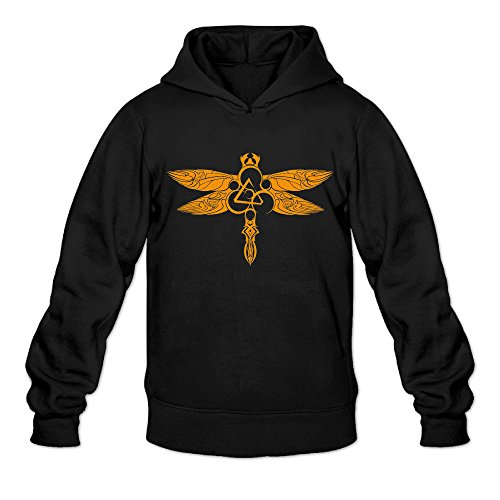 DVPHQ Men's Funny Coheed Cambria Rock Band Hooded Sweatshirt Size XXL (Nintendo Control Costume)