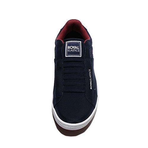 Icona Mens Royal Elastics, Blu Scuro / Rosso Blu Scuro / Rosso