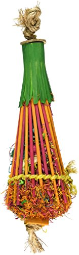 Planet Pleasures Chopstick Teepee Bird Toy, Large/6 x 15