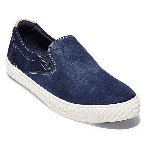 Cole Haan Men's Grandpro Deck Slip-On Sneaker Marine Blue Nubuck 10 D US