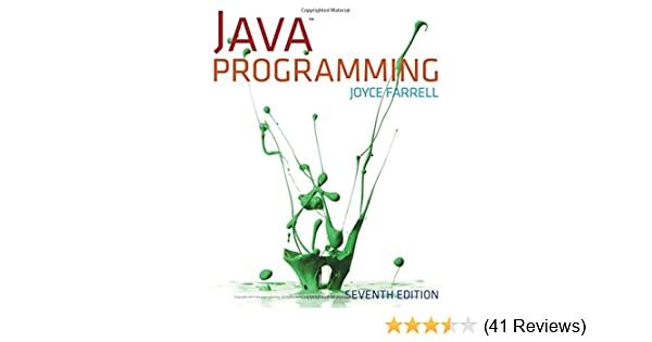 Java Programming Farrell Joyce 9781285081953 Amazon Com Books