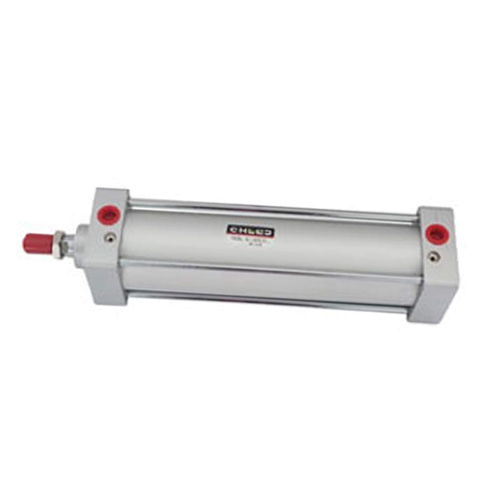 Woljay Pneumatic Air Cylinder SC 63 x 175 PT 3/8 Screwed Piston Rod Dual Action Bore: 63mm Stroke: 175mm