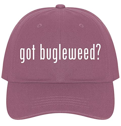 The Town Butler got Bugleweed? - A Nice Comfortable Adjustable Dad Hat Cap, Pink