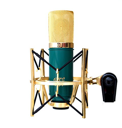 MXL V67G Large Capsule Condenser Microphone Gold Plated USM-001-G Shockmount (Mxl V67g Condenser Microphone compare prices)