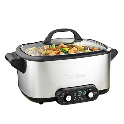West Bend 4-in-1 Multicooker Slowcooker, 7-Quart (Discontinued