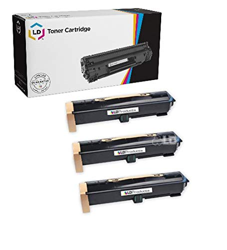 (LD Compatible Toner Cartridge Replacement for Xerox 6R1184 (Black, 3-Pack))