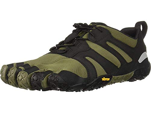 Vibram Men's V 2.0 Trail Running Shoe, Ivy/Black, 47 D EU (47 EU/12-12.5 M US D EU US)