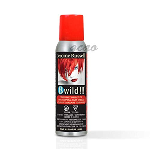 Dark Red Hair Spray (Jerome Russell B Wild Temporary Hair Color Spray 3.5 oz, COUGAR)
