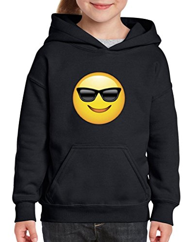 Xekia Emoji with Sunglasses Hoodie For Girls and Boys Youth Kids Large - Sunglasses Kohl's