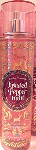 Bath and Body Works Twisted Peppermint Fragrance Mist – (236ml)