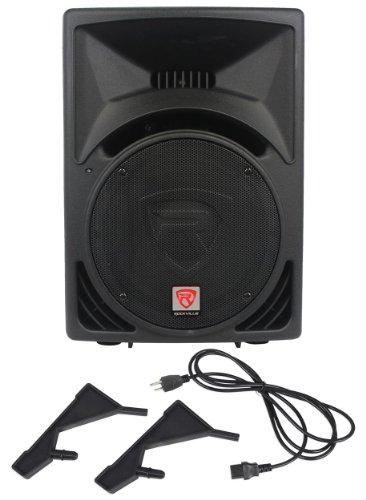 "Rockville RPG12 12"" Powered Active 800 Watt 2-Way DJ PA Speaker System"