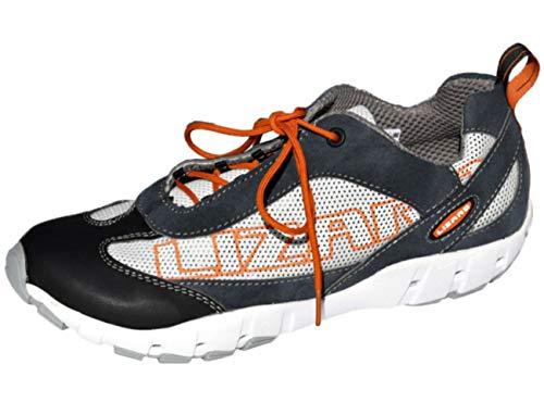 Lizard Chaussures Shoe Schwarz Crew weiß Bateau F6FqAwO
