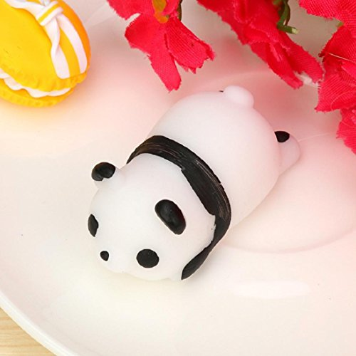 Cute Mochi Squishy Panda Squeeze Healing Fun Kids Kawaii Toy Stress Reliever Decor ,By Gbell (#2)
