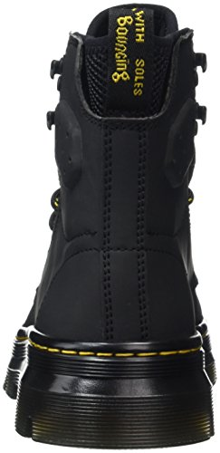 Synthetic Quinton Black Unisex Adults' Black Black Boots Martens Ajax Nubuck Dr wxtYUgqn