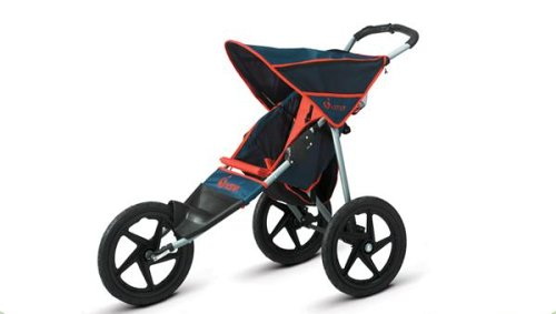 Amazon.com: InStep Run Around Jogging Stroller (Blue/Red: Sports ...